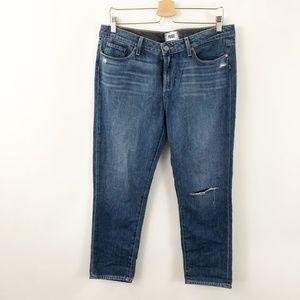 dc863fe7e03 PAIGE Jeans | Jimmy Jimmy Skinny Star Patch | Poshmark